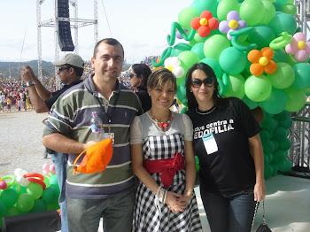 Pr. Alejandro ( Uruguai), Ana Paula Valadão, Marta Lança ( Fest Kids)