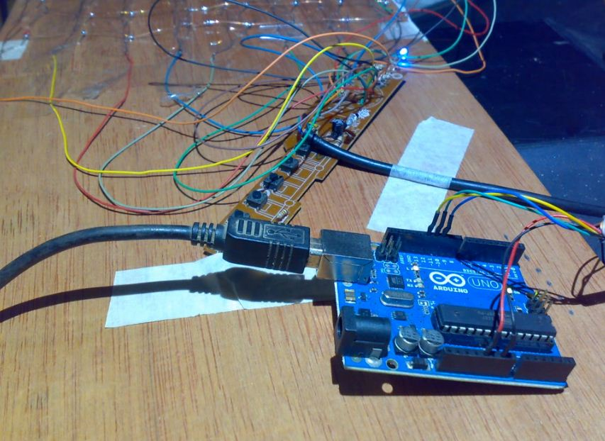 Led matrix text scrolling dengan arduino subhanblada