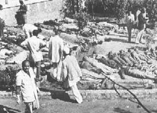 Muertos por la tragedia de Bhopal