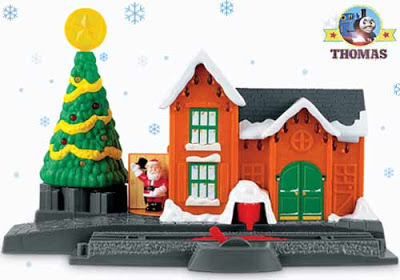 Island of Sodor toy railway TrackMaster Thomas and friends Christmas Delivery set model railroading