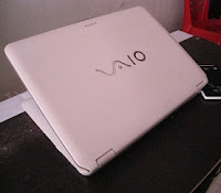 jual laptop 2nd sony vaio vgn-cs320j