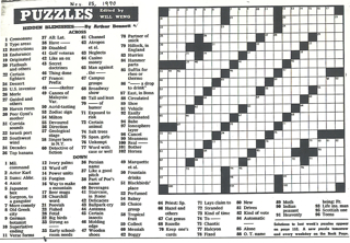 Arty Nyc Area Crossword Clue #5