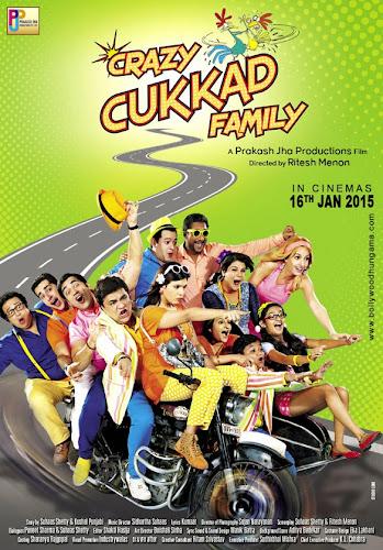 Crazy Cukkad Family (2015) Movie Poster No. 1