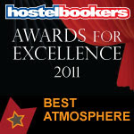 HOSTELBOOKERS AWARDS FOR EXCELLENCE 2011-3RD BINIBAG AWARD