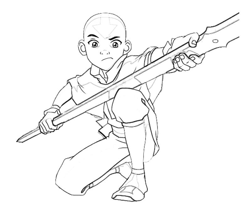 avatar-aang-funny-coloring-pages