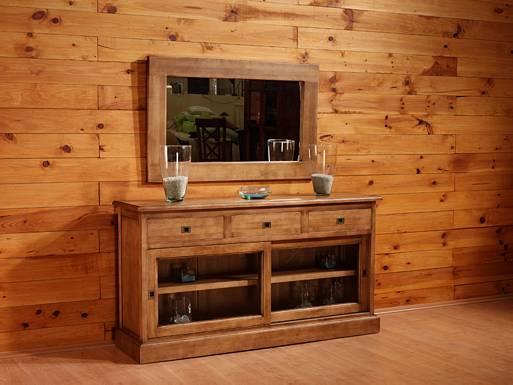 Madera decorando interiores - Limpiar muebles madera ...