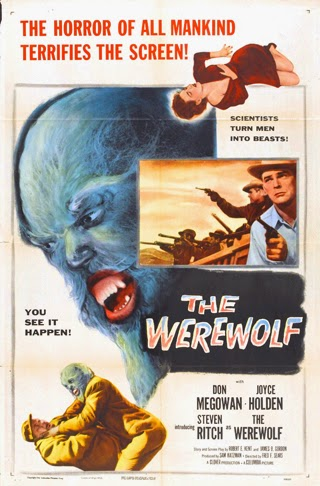 Poster - The Werewolf (1956)