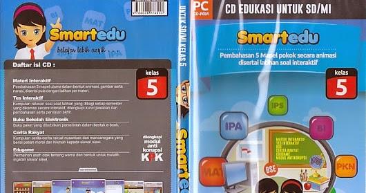 Toko Buku Rahma Cd Pembelajaran Smartedu Untuk Sd Mi Kelas 5