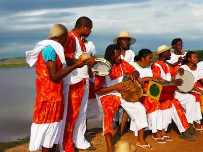 Imagem: Marcos ViniciusIntegrantes da Comunidade Quilombola