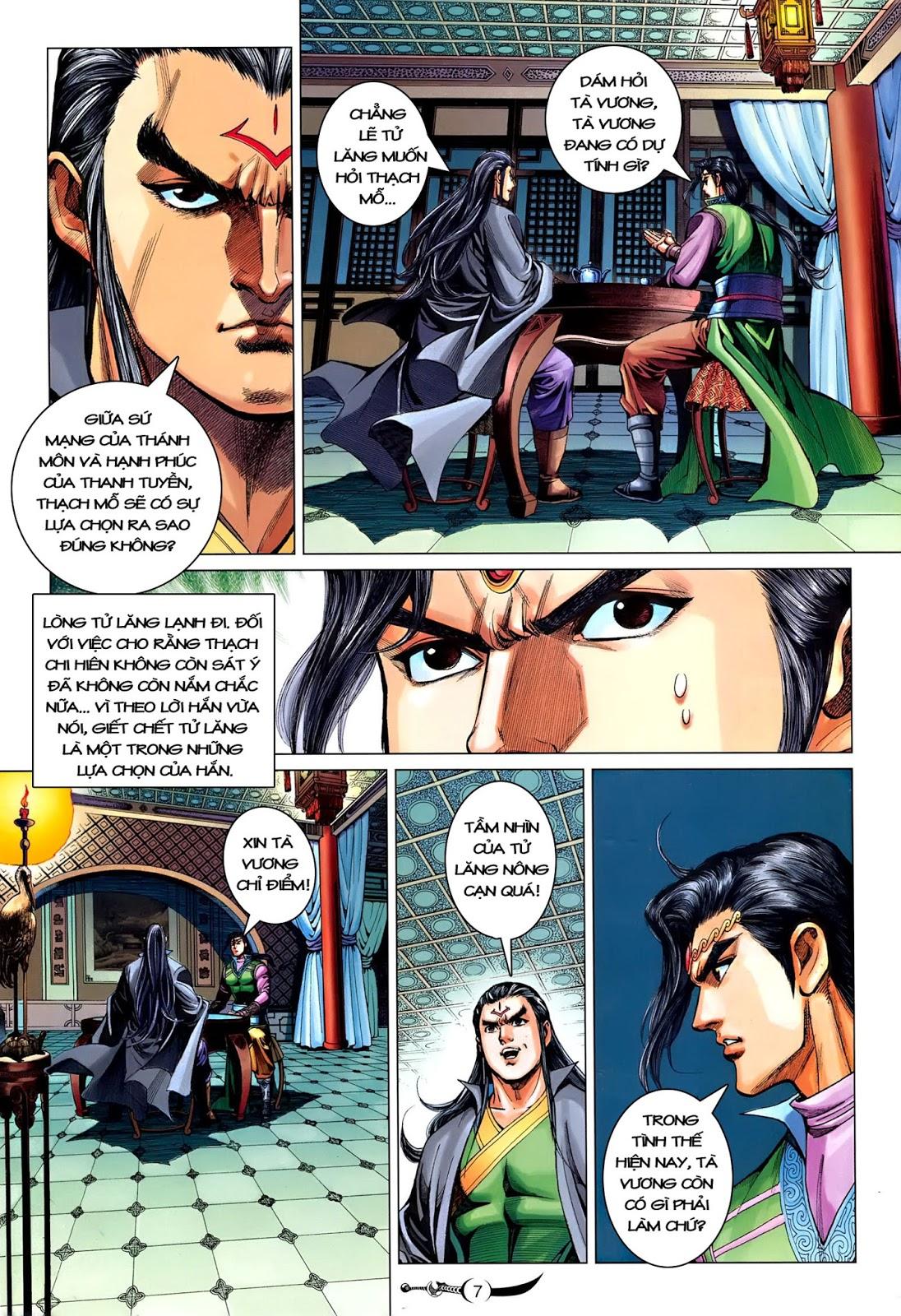 Đại Đường Song Long Truyện chap 216 - Trang 9