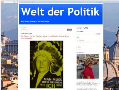 Welt der Politik