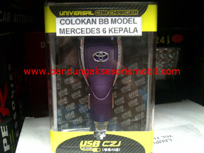 COLOKAN BB MODEL MERCEDES 6 KEPALA