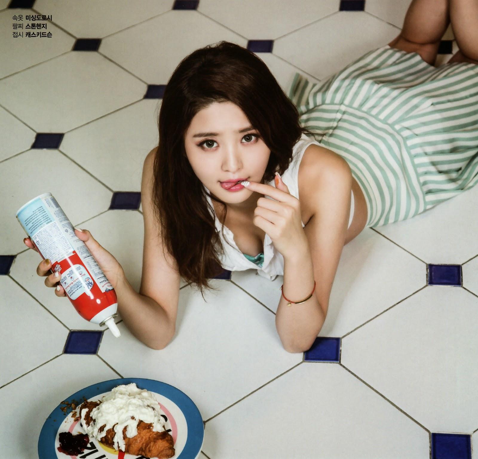 Maxim Korea EXID 2014 Junghwa