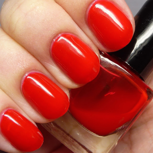 Grace-full Nail Polish Stop the Show Red Tint