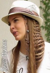 Tutorial penteados com tranças para 7 dias da semana - Vídeo
