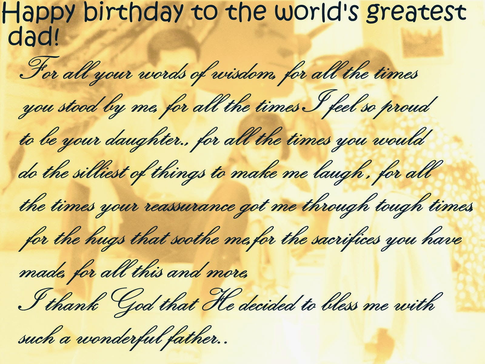 dad birthday quotes from son - photo #30