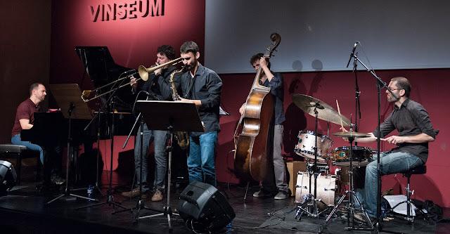 Josep Tutusaus Quartet amb Santi De La Rubia (Auditori de Vinseum, Vilafranca del Penedès, 10-10-2015)
