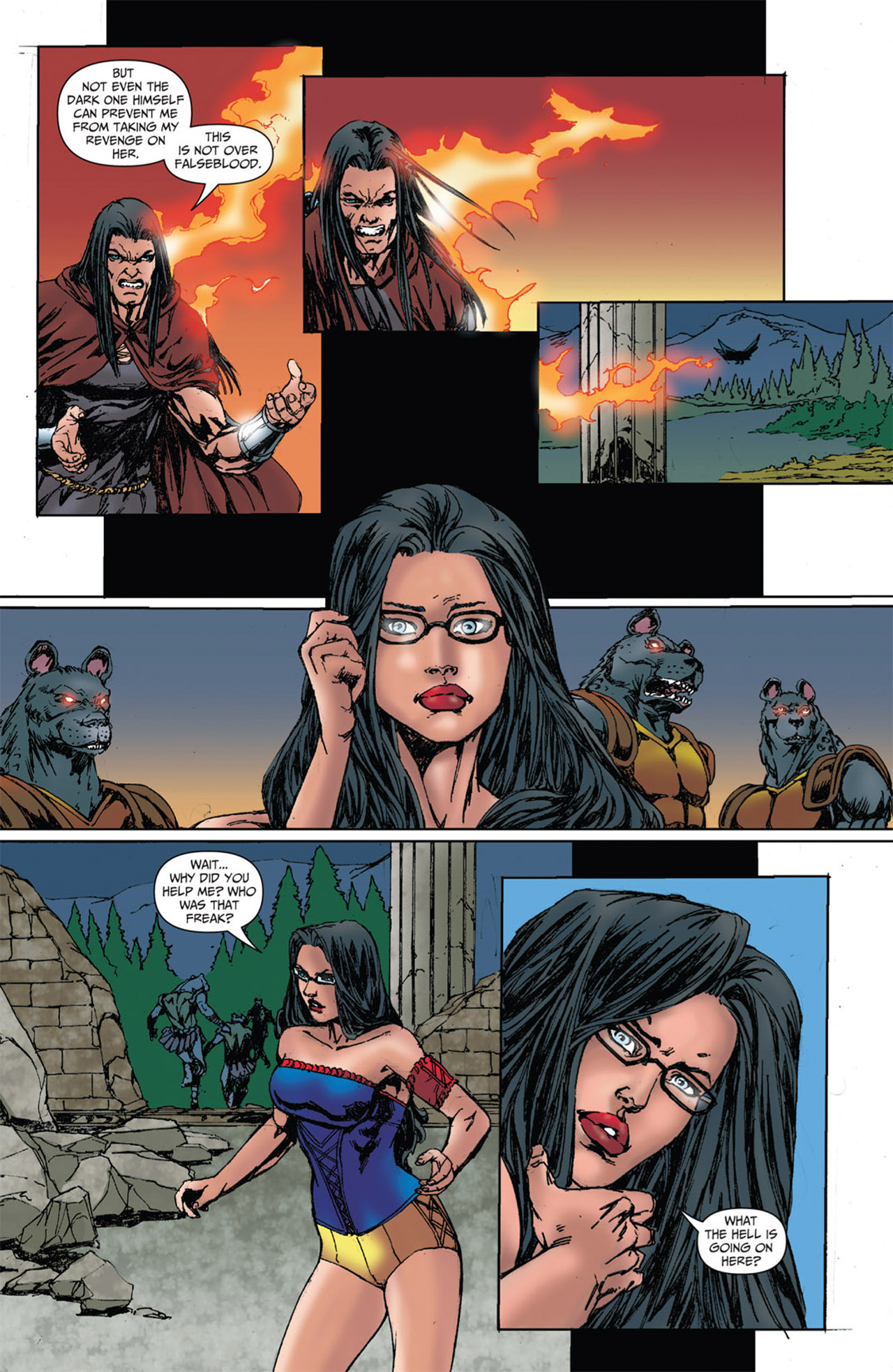 Grimm Fairy Tales (2005) Issue #51 #54 - English 21