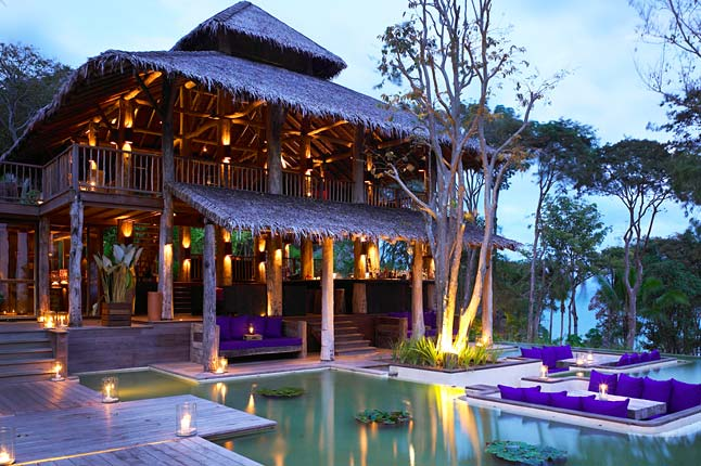 Top 5 honeymoon destinations fpace for Beautiful hotels around the world