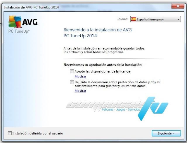 AVG PC TuneUp 2014 Español Versión 14.0