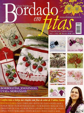 Revista - Bordado com fitas