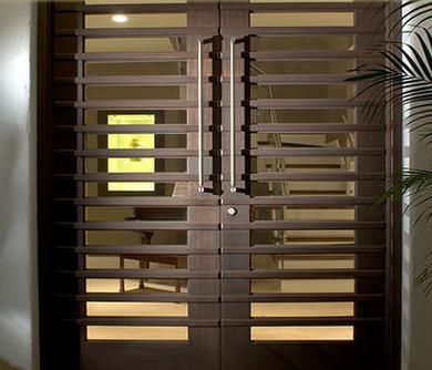 Fotos y dise os de puertas abertura de puertas for Puertas para terrazas madera