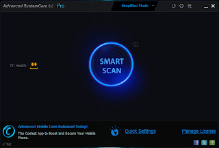 Advanced SystemCare Pro 6.0.8.182 Final Incl Key