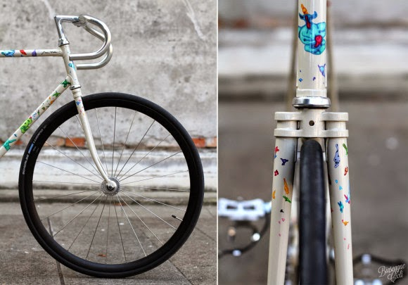 Fixed gear Forgood 2014 by Giovanni Motta & Biscagne Cicli