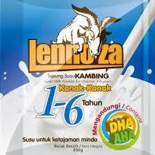 Pengedar rasmi Susu Kambing Lennoza