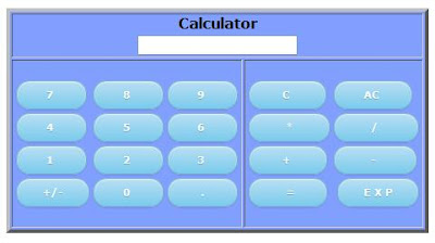 A Calculator in your Blog or Website