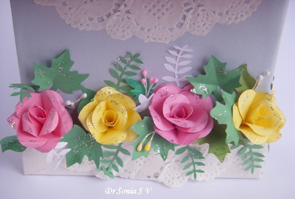 Cards crafts kids projects easy heart punch rose flower tutorial mightylinksfo