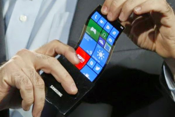 Flexible mobile phones coming soon Samsung