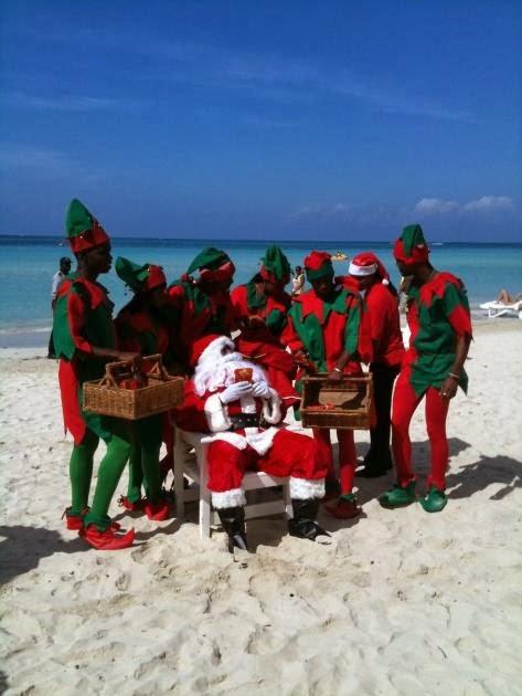 Travel the caribbean christmas in jamaica
