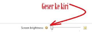 gambar mengatur brightness asus