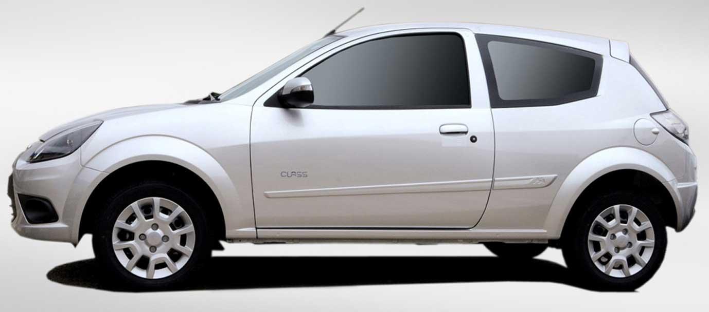 Ford Ka sin restyling en el 2013 pero con colores nuevos
