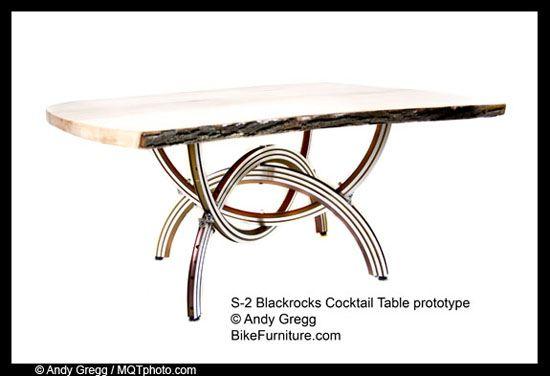 cari-info-menarik.blogspot.com - Update Foto Furnitur Keren Dari Rongsokan Sepeda