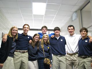 Montgomery Catholic Key Club Members completed 700 service hours! 1