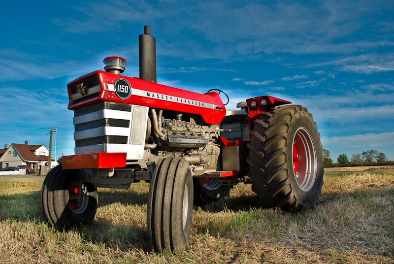 All About Tractors Retro Mondays Massey Ferguson 1150