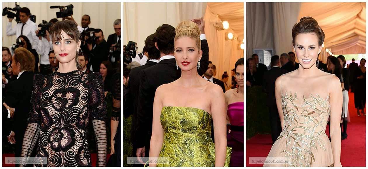 peinados elegantes 2014 Gala Met