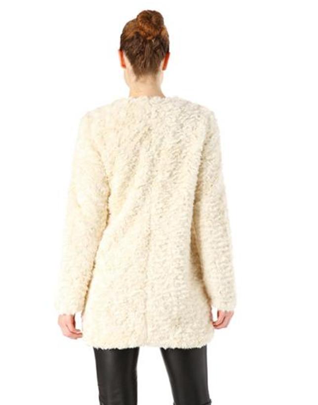 Promod - manteau fourrure