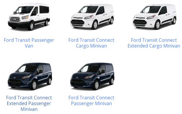 Các dòng xe Ford & mẫu xe Ford từ trước đến nay