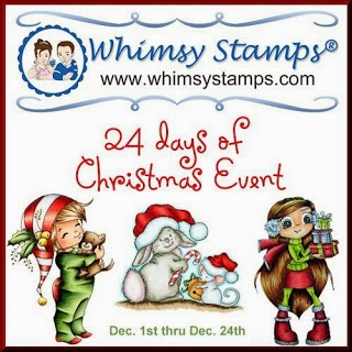 Whimsy Stamps 24 days of Christmas Event