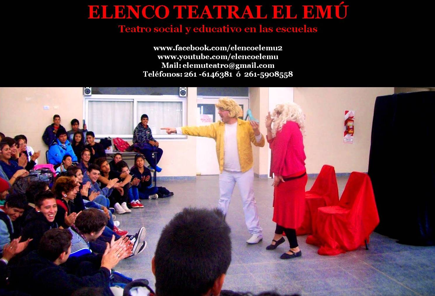 Elenco  Teatral  El  Emú