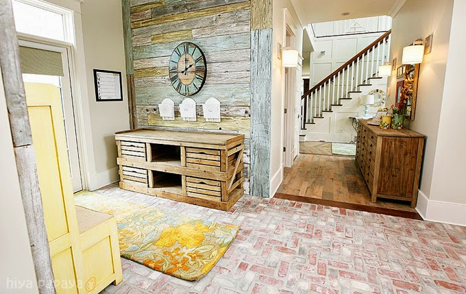 vickys home 15 ideas para paredes de palets de madera 15 wood pallet wall ideas