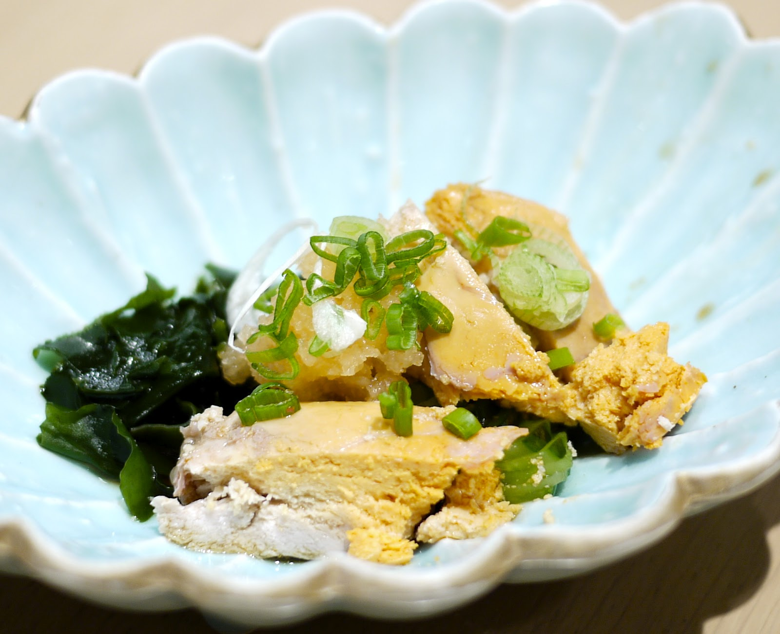 Ankimo Ponzu (RM13) - Monk fish liver served with ponzu sauce was ...