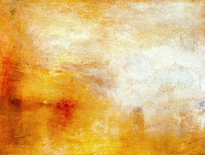 Crepuscle sobre un llac (Joseph Mallord William Turner)