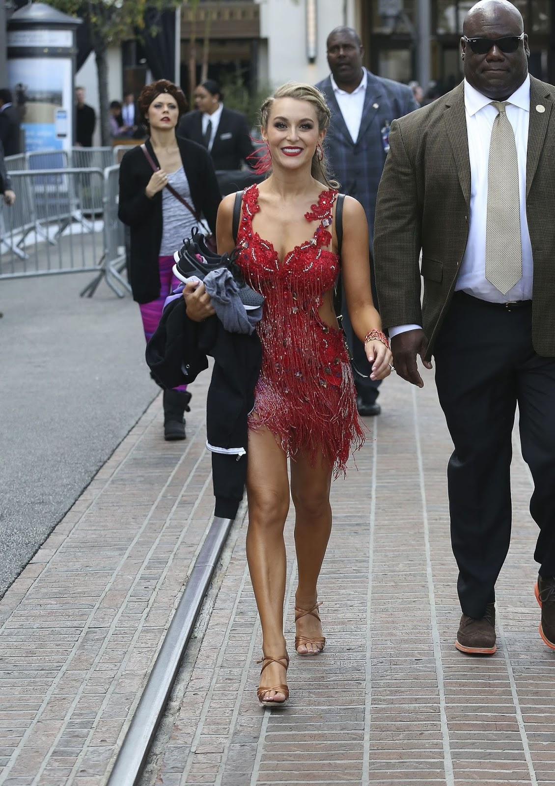 Alexa PenaVega Shooting Dancing in Hollywood - Photo Alexa PenaVega 2015