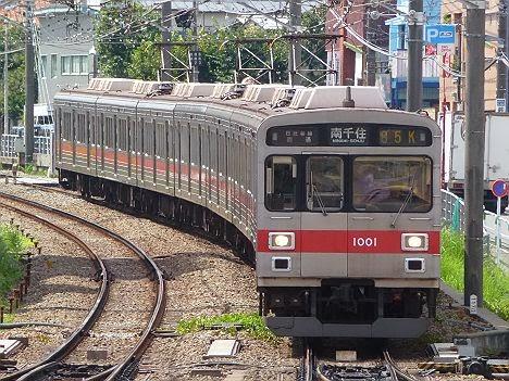 東京メトロ日比谷線 南千住行き5 東急1000系(H25.3で廃止)