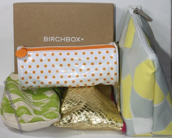 Third beauty swap: Beauty boxes and bags from the US
