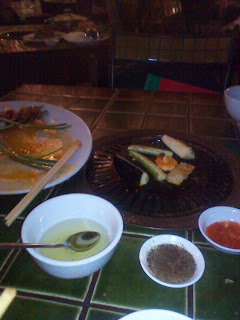 Barbecue Garden Restaurant. Ho Chi Minh City. Vietnam